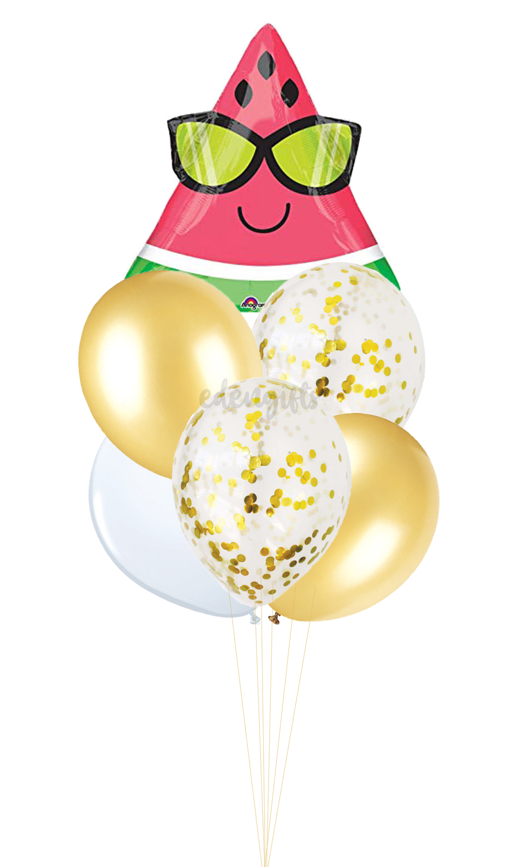 Sunglasses Watermelon Foil Helium Balloon Set