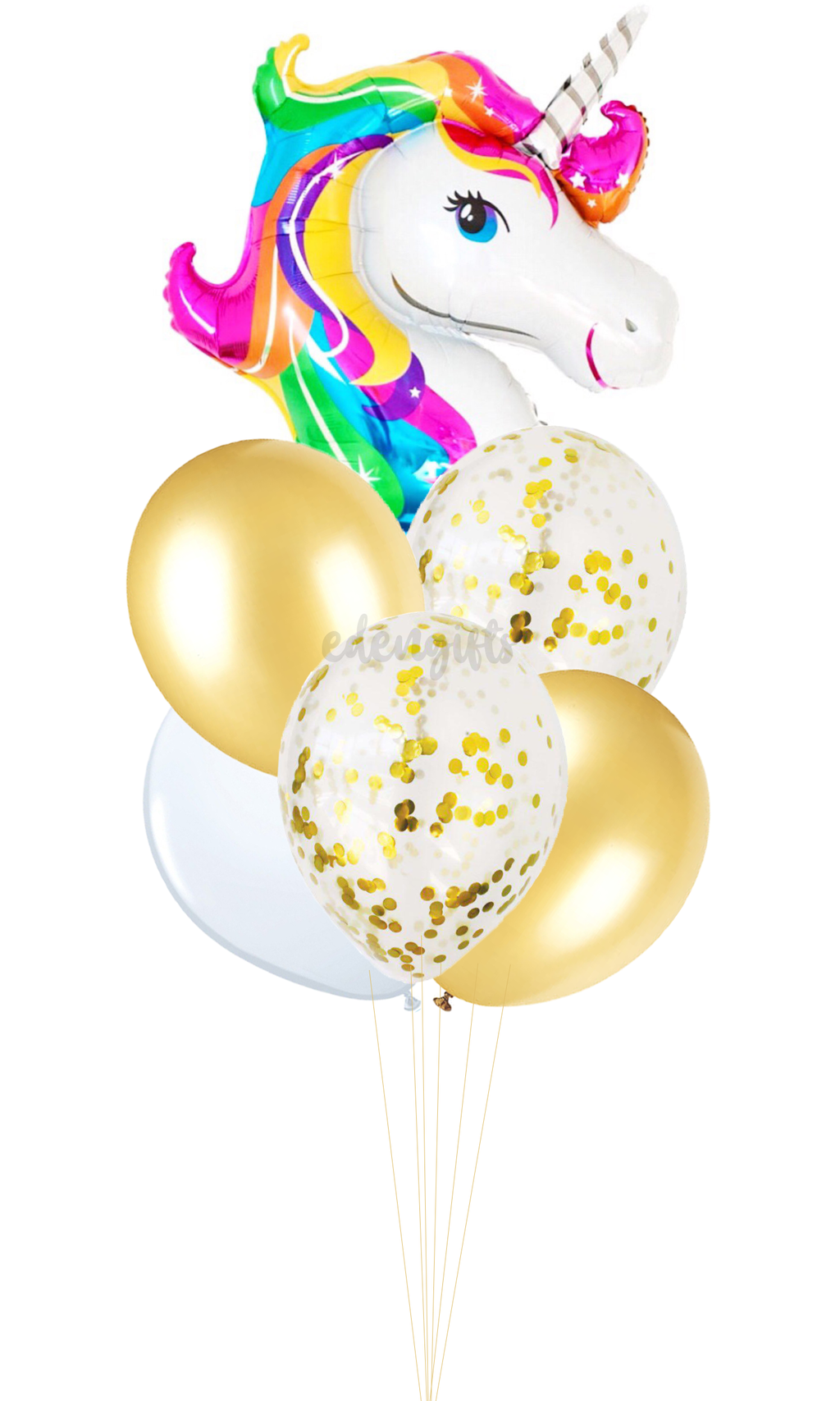 Unicorn Foil Helium Balloon Set