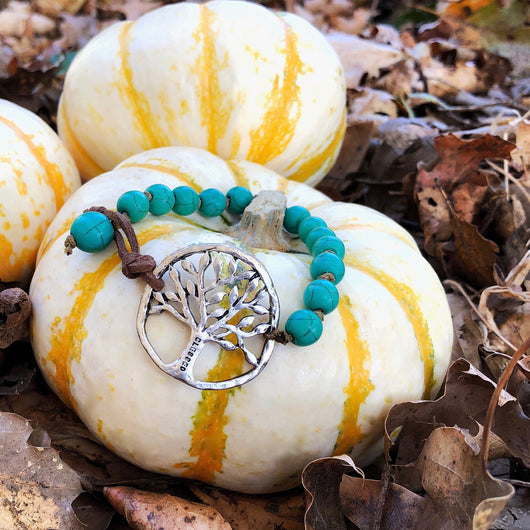 Blessed Tree Of Life Corded Bracelet