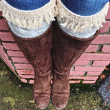 Fringed Frances Boot Cuffs