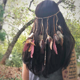 Phoenix Feather Head Dress