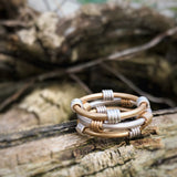Banded Ring Set