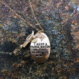 Walk The Line Necklace
