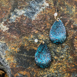Thumbprint Patina Earrings
