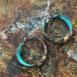 Three Ring Hoop Earrings