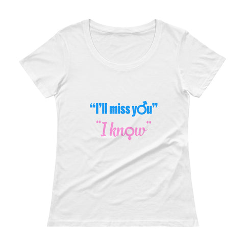 I'll miss you / I know - RAVEN GATES. Women's T-Shirt