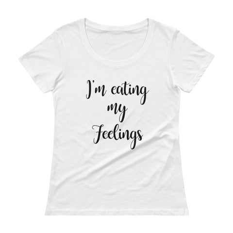 I'm eating my feelings - CORINNE. Women's T-Shirt