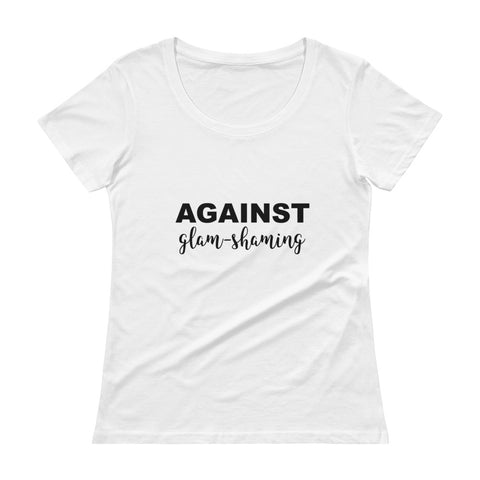 Against Glam-Shaming - MARIKH & CHELSEA. Women's T-Shirt