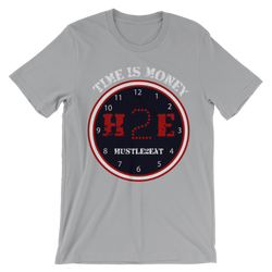 H2E Time Is Money Tee - Silver/Red/Navy/White