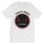 H2E Time Is Money Tee - White/Red/Black