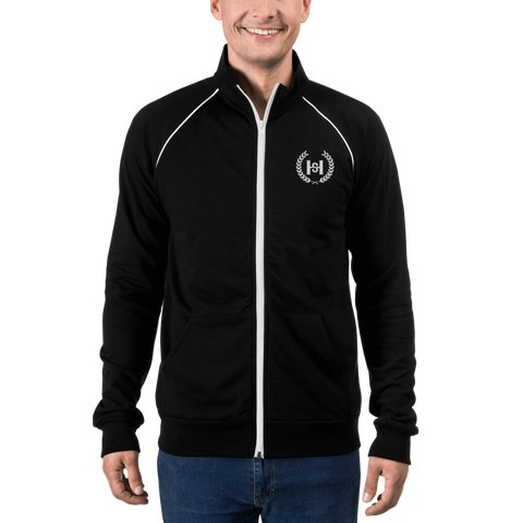 H2E Embroidered Piped Fleece Jacket