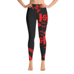 H2E Yoga Leggings Black