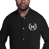 H2E Embroidered / Champion Collaboration Bomber Jacket