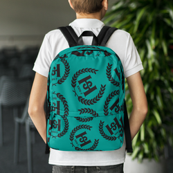 H2E All Over Crest Backpack
