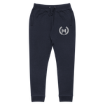 Crest Embroidered Logo Unisex slim fit joggers