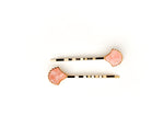 Shell Hair Pin Set - Pink