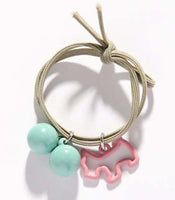 Puppy Charmed Hair Ties