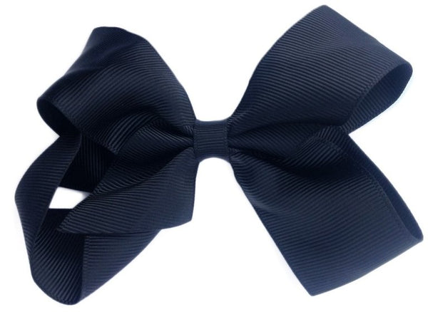 Oversized Chic Black Sister Bow