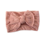 Knotted Headband - Blush