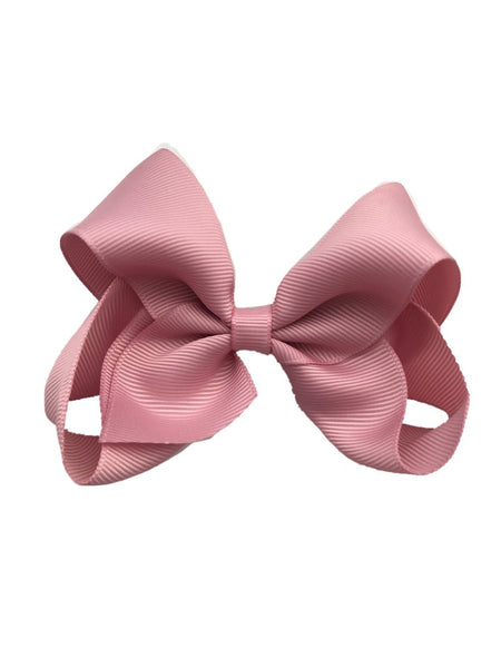 Oversized Dusty Rose Sister Bow