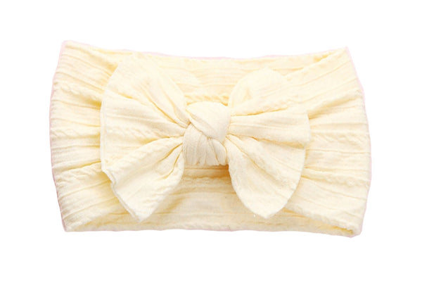 Knotted Headband - Lemon Curd