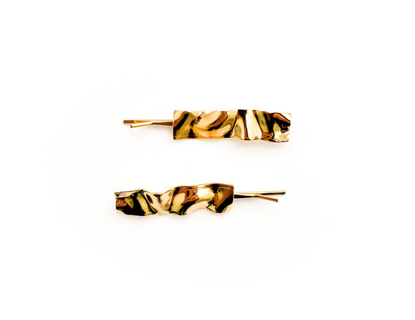 Gold Flair Pin Set