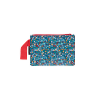 Floral Mini Zip Pouch