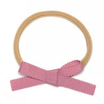 Petite Baby Bow Headbands - Dusty Rose