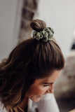 Olive Green Pip Scrunchie