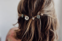 Vintage Floral Hair Pin Set