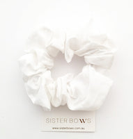 Snow Ball Scrunchie