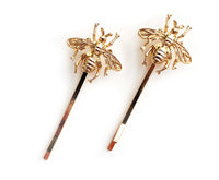 Bee Hair Pins (Pair)