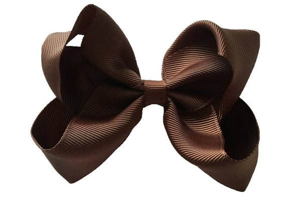 Chocolate Brown Sister Bow