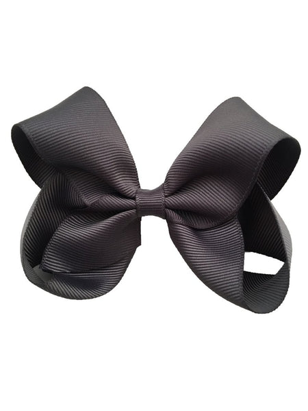 Charcoal Sister Bow