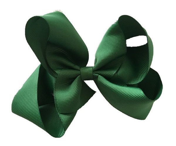 Oversized Emerald Green Sister Bow