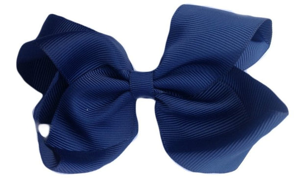 Navy Blue Sister Bow