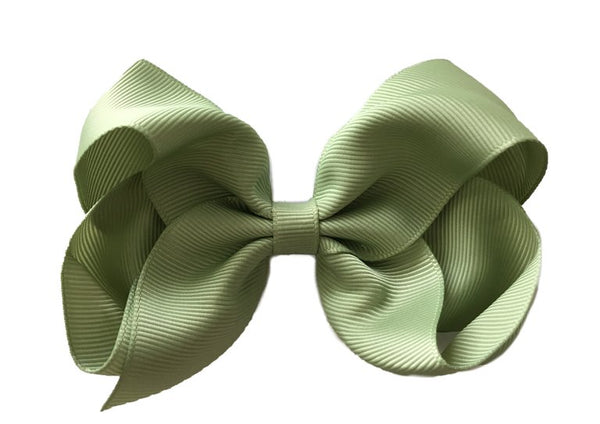 Olive Green Sister Bow