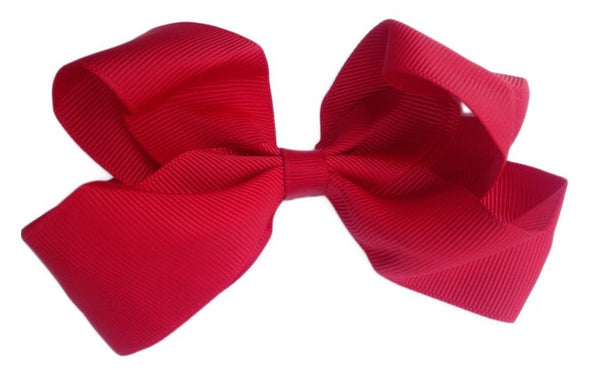 Big Sister Bow Rosy Red
