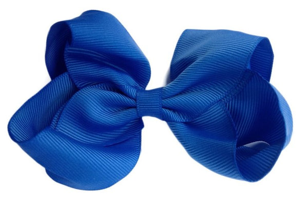 Oversized Royal Blue Sister Bow