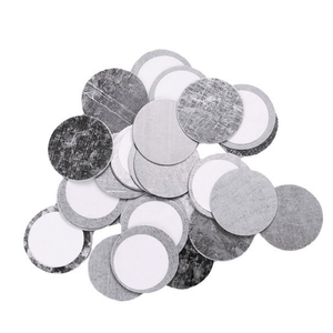 Metal, Magnetic Stickers (26 mm circles)