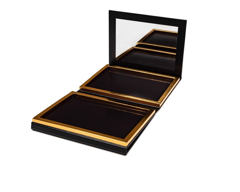 70 Pan, Faux Leather, Black