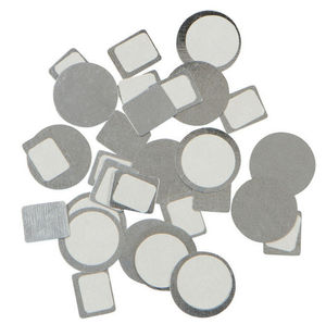 Metal, Magnetic Stickers (circles & squares)