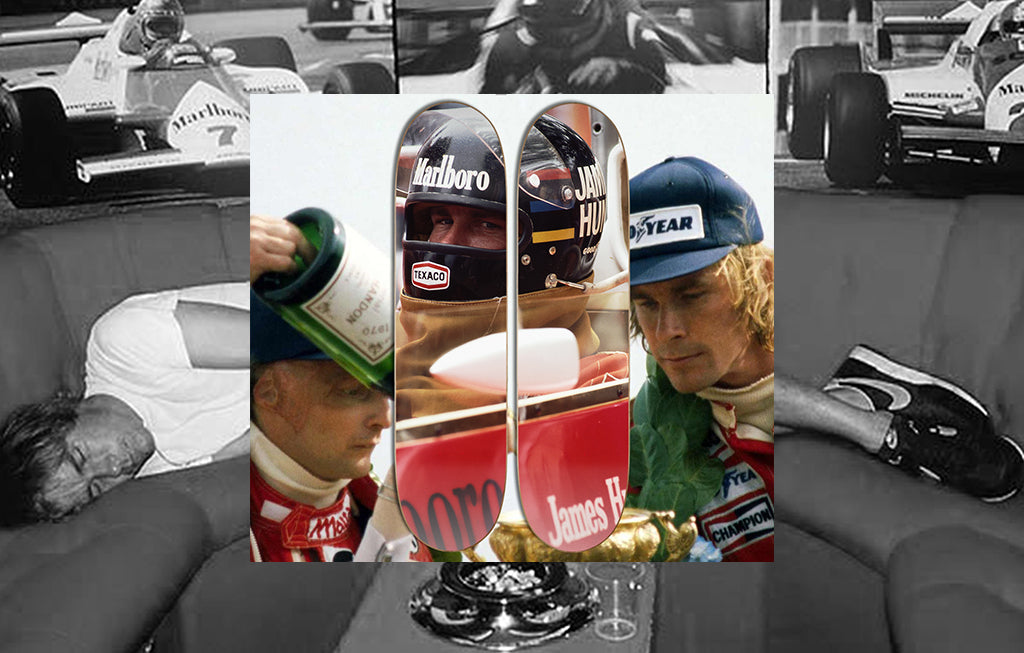 "JAMES HUNT ""HIGHS & LOWS"" DECK SET"