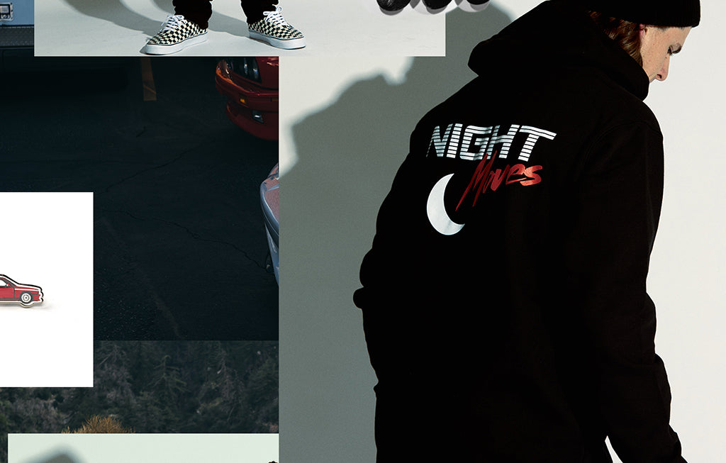 NIGHT MOVES LOOKBOOK