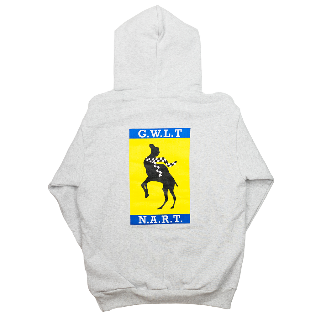 NART HOODED SWEATSHIRT ASH