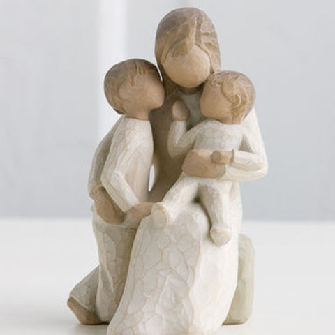 The Shabby Shed - Willow Tree Figurines - Quietly