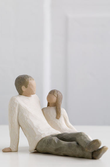 Father and Daughter - Willow Tree Figurines - The Shabby Shed