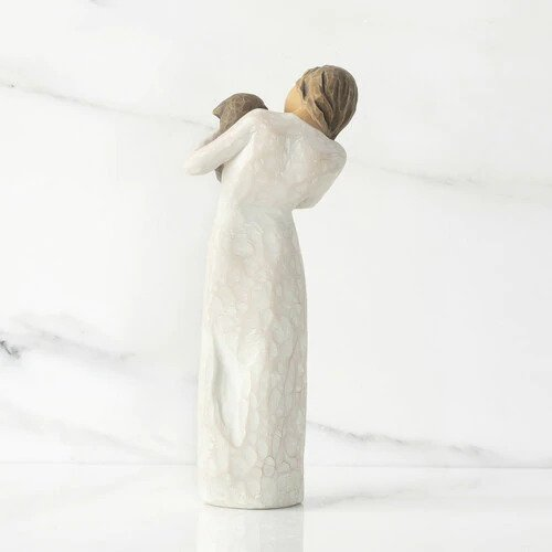 The Shabby Shed - Willow Tree Figurines - Adorable You (Dark Dog)
