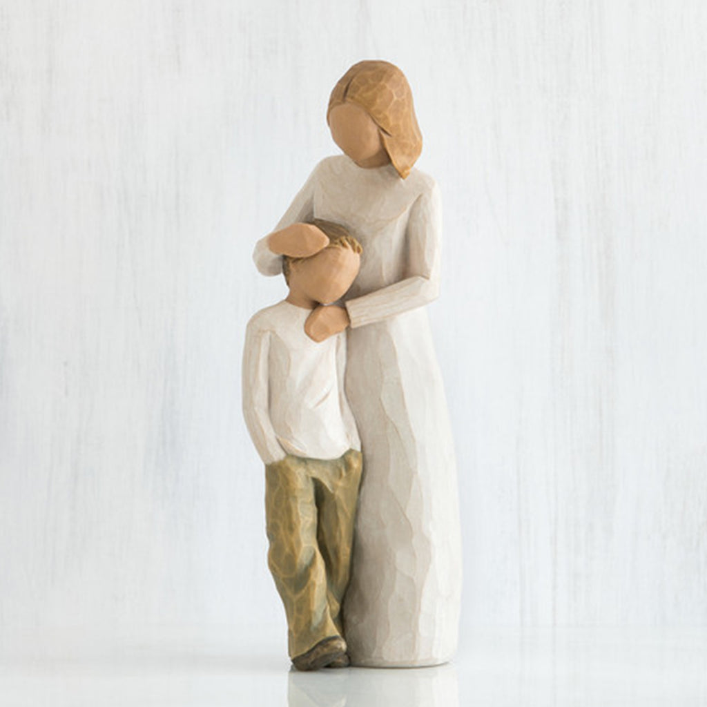 The Shabby Shed - Willow Tree Figurines - Mother and Son