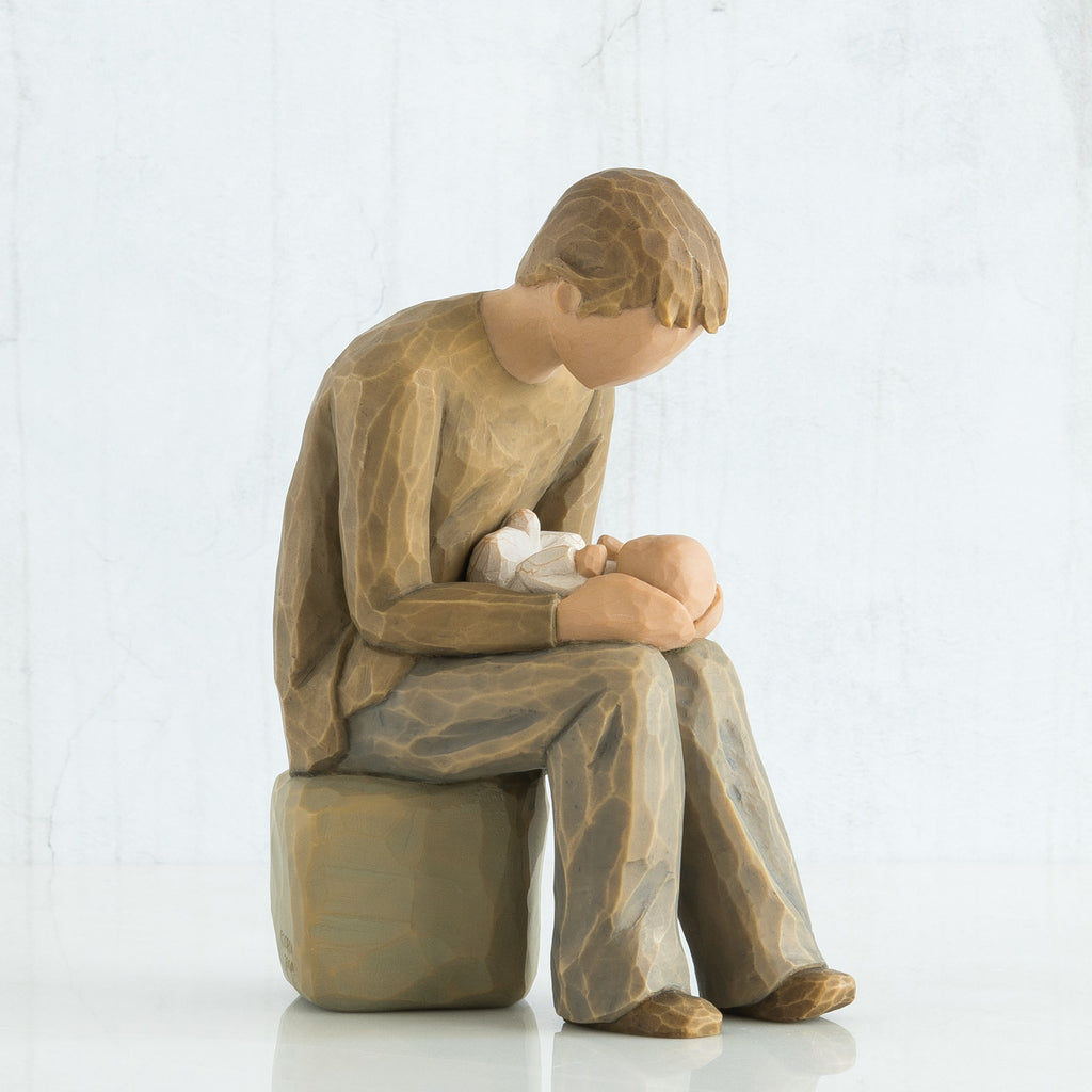 The Shabby Shed - Willow Tree Figurines - New Dad